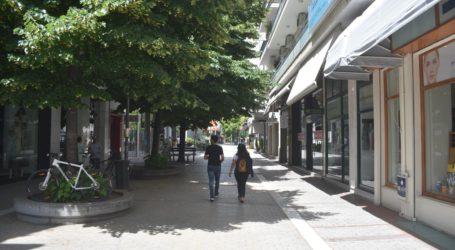Δείτε φωτορεπορτάζ: Έρημη πόλη η Λάρισα ανήμερα του Αγίου Πνεύματος – Ελάχιστα καταστήματα ανοιχτά