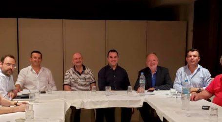 Συναντήθηκαν με τους κυβερνητικούς βουλευτές οι Φοροτεχνικοί Μαγνησίας