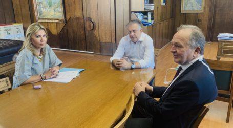 Συνάντηση Ζ. Μακρή και Α. Λιούπη με τον υπουργό Εσωτερικών για θέματα των νησιών των Β.Σποράδων
