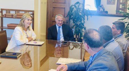 Συνάντηση Ζέττας Μακρή και Μ. Βορίδη με τη διοίκηση του ΑΣ Ζαγοράς Πηλίου