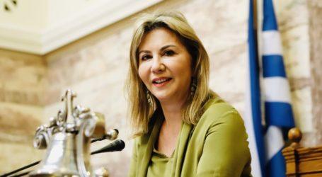 Αναφορές υποστηρικτικές των επειγόντων αιτημάτων της ένωσης ξενοδόχων Μαγνησίας κατέθεσε η Ζέττα Μακρή