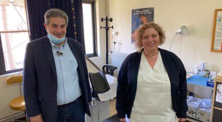 Εσκίογλου: Σημαντική ήδη η προσφορά του τμήματος μαιών στο Κέντρο Υγείας Φαρσάλων