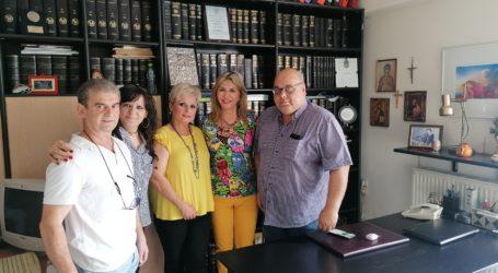Συνεργασία της Ζέττας Μακρή με τη ΔΑΚΕ εργαζομένων του Νοσοκομείου Βόλου