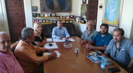 Στην ανάπλαση της παραλιακής ζώνης του λιμανιού της Σκοπέλου προχωρά η Περιφέρεια Θεσσαλίας