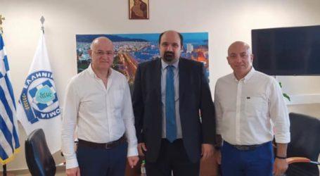 Επίσκεψη και εύσημα Τριαντόπουλου στα στελέχη της Αστυνομικής Διεύθυνσης Μαγνησίας