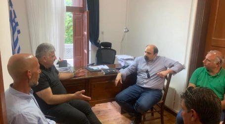 Νότιο Πήλιο: Να εκμεταλλευτεί τα συγκριτικά του πλεονεκτήματα συμφώνησαν Τριαντόπουλος και Μιτζικός