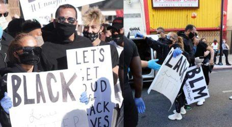 Jennifer Lopez-Alex Rodriguez: Με μάσκες στη διαδήλωση «Black Lives Matter»
