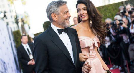 Ένα βήμα πρίν απο το διαζύγιο ο George και η Amal Clooney