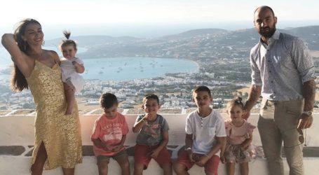 Η έκπληξη του Βασίλη Σπανούλη με τα παιδιά του για τα γενέθλια της Ολυμπίας Χοψονίδου