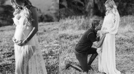 Ντενίζ Σεβέρο-Ντόντα: Η όμορφη φωτογράφιση πριν έρθει στον κόσμο το πρώτο τους παιδί!