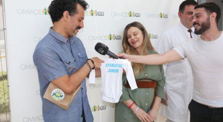 Η εξομολόγηση του Γιώργου Χρανιώτη: «Δάκρυσα όταν κράτησα τον γιο μου»