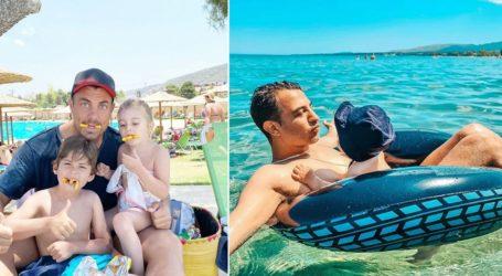 Οι τρυφερές φωτογραφίες των διάσημων Ελλήνων για τη Γιορτή του Πατέρα
