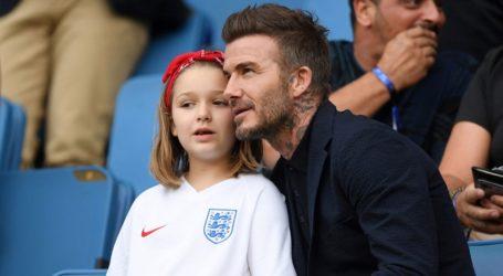 Η Harper Beckham έχει κληρονομήσει το ταλέντο του μπαμπά της στο ποδόσφαιρο