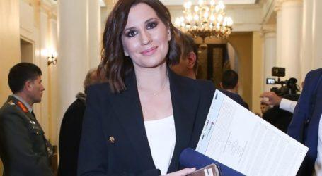 Η Νίκη Λυμπεράκη αποκάλυψε το φύλο του μωρού που περιμένει