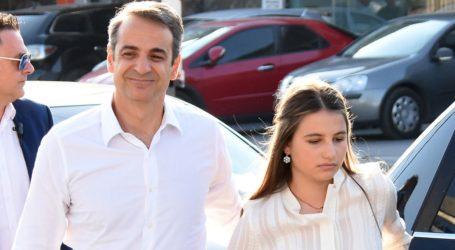 Οι δημόσιες ευχές του Κυριάκου Μητσοτάκη για τα γενέθλια της κόρης του