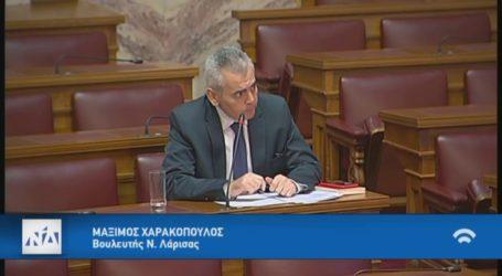 Χαρακόπουλος: Αβάφτιστοι είναι αυτοί που ρυπαίνουν τον Τιταρήσιο;