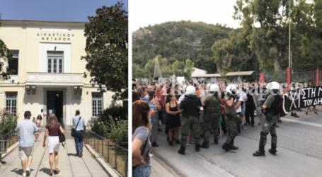 Βόλος: Στον εισαγγελέα δύο άτομα μετά τα επεισόδια στην ΑΓΕΤ