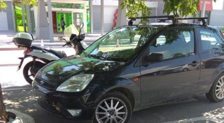 Λάρισα: Η περιζήτητη θέση πάρκινγκ και ο λεπτός χειρισμός του εμπορικού κέντρου (φωτο)