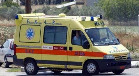 11χρονο παιδί μεταφέρεται εκτάκτως στο Πανεπιστημιακό Νοσοκομείο Λάρισας