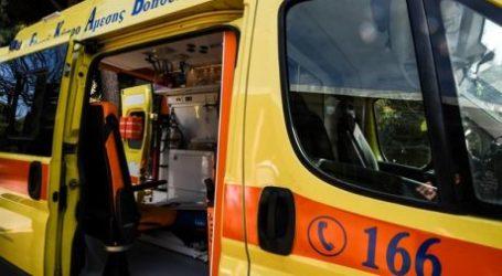 Βόλος: Στο Νοσοκομείο 20χρονη μετά από τροχαίο ατύχημα