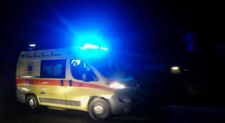 Βόλος: Τροχαίο ατύχημα στο Διμήνι με έναν τραυματία
