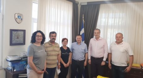 Συνάντηση του Εργατικού Κέντρου Ελασσόνας με τον Δήμαρχο Ελασσόνας