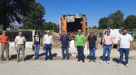 Εντυπωσιακή η συμμετοχή των Φαρσαλινών αγροτών στο πρόγραμμα συλλογής φυτοπροστατευτικών προϊόντων