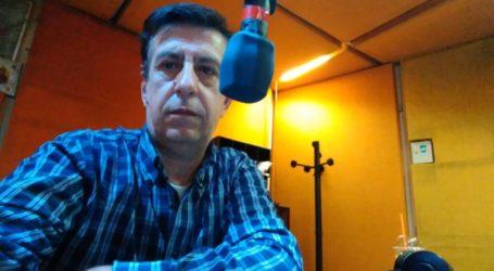 Ο Γιάννης Ξυνόπουλος στον ραδιοφωνικό αέρα του Βόλου