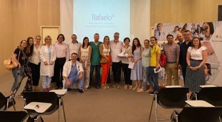 Αντιμετώπιση της αιμορροϊδικής νόσου με τη μέθοδο Rafaelo από την  Α΄ Χειρουργική Κλινική του ΙΑΣΩ Θεσσαλίας