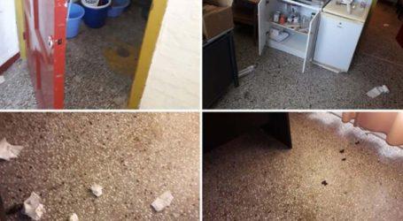 Εικόνες ντροπής: Βάνδαλοι στο σχολείο της Καρίτσας έκαναν ακόμη και την… ανάγκη τους στο πάτωμα!