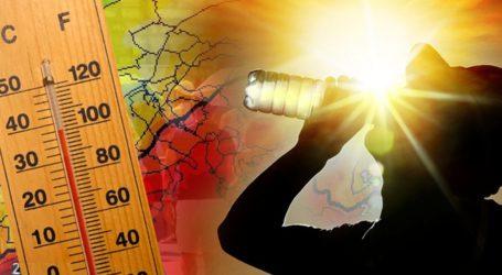 Τρεις Θεσσαλικές πόλεις στο top 8 των υψηλότερων θερμοκρασιών στην Ελλάδα
