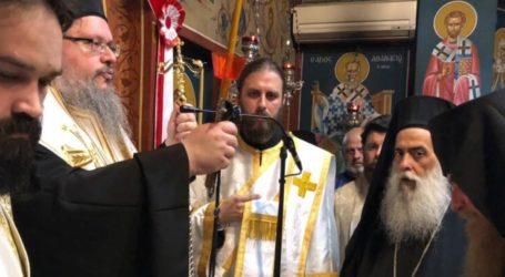 Ο Ιερώνυμος Λαρίσης τέλεσε την κουρά Νέου Μοναχού στον Πυργετό – Πλήθος κόσμου του ευχήθηκε (φωτο)
