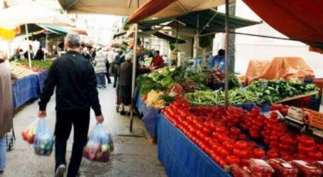 Λειτουργία λαϊκών αγορών στο δήμο Τυρνάβου