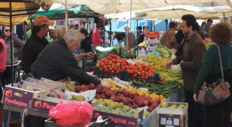 Βόλος: Σε νέες θέσεις οι λαϊκές αγορές