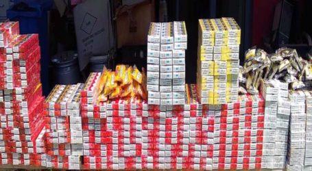 Συνελήφθη ένα άτομο στη Λάρισα για πάνω από 1500 πακέτα λαθραία τσιγάρα