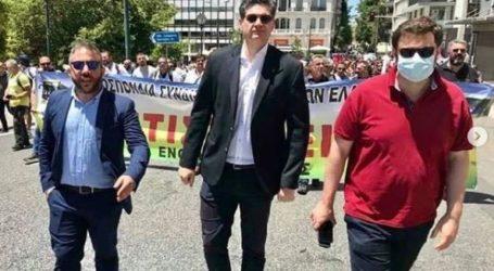 Δίπλα στους ξενοδοχοϋπαλλήλους ο Μεϊκόπουλος: «Μεγάλοι χαμένοι αυτοί που σήκωσαν τη χώρα στα δύσκολα»