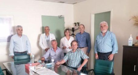 Με τη διοίκηση του ΠΓΝΛ συναντήθηκε το Τμήμα Υγείας του ΣΥΡΙΖΑ Λάρισας