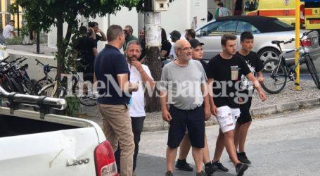 Ο βουλευτής Μεϊκόπουλος στην πορεία κατά της καύσης RDF στον Βόλο