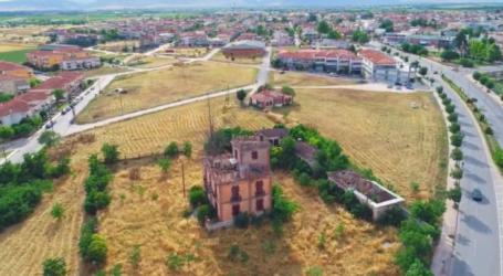 Ο ποτισμένος με μνήμες …μυστήριος πύργος της Λάρισας από ψηλά (βίντεο)