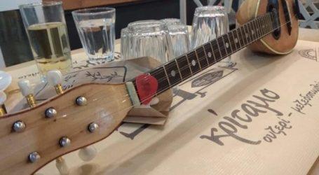Κρίταμο: Εκεί τα μεσημέρια της Τετάρτης έχουν άρωμα από τσίπουρο παρέα με μουσική