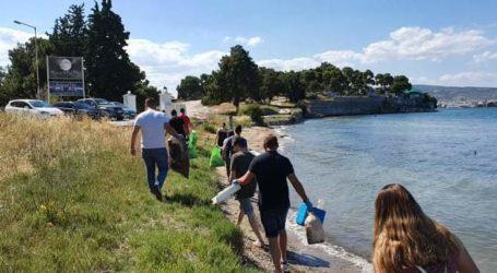 Παραλίες του Βόλου καθάρισαν τα μέλη της ΟΝΝΕΔ Μαγνησίας τιμώντας την Ημέρα Περιβάλλοντος [εικόνες]