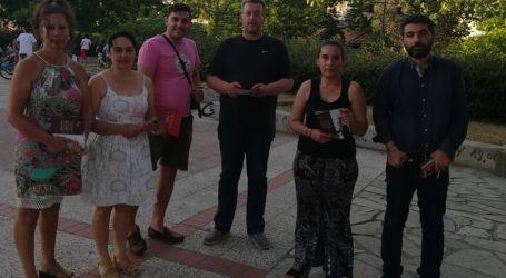 Εξόρμηση του ΣΥΡΙΖΑ Λάρισας στη Νεάπολη για το πρόγραμμα «Μένουμε Όρθιοι ΙΙ»