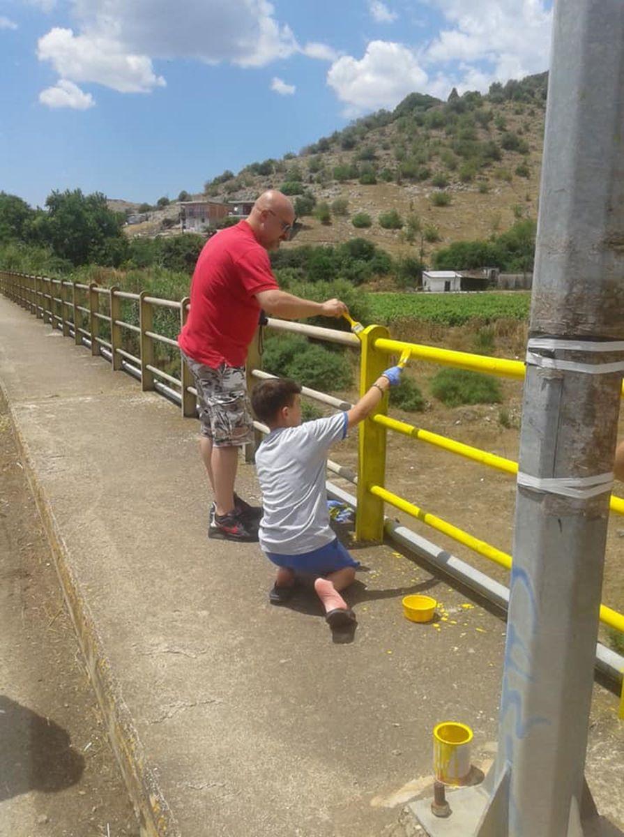 Συνεχίστηκαν στο Δαμάσι οι κοινές εθελοντικές δράσεις του δήμου Τυρνάβου με τους Προσκόπους του Αμπελώνα