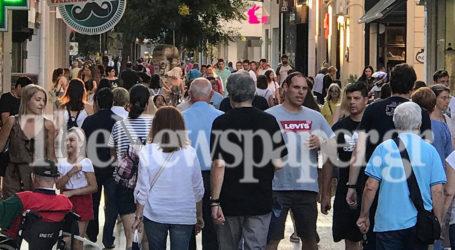 Βόλος: Την τιμητική της είχε η εμπορική αγορά το απόγευμα της Παρασκευής [εικόνες]