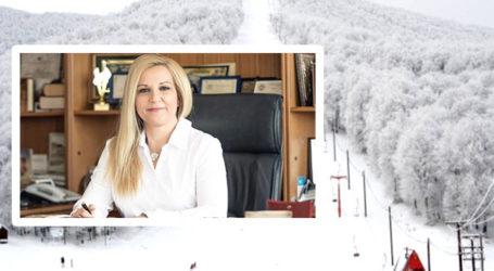 Κολυνδρίνη: Θα κατασκευαστεί γυάλινος πύργος στην κορυφή του χιονοδρομικού κέντρου Πηλίου