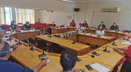 Συνεδρίασε το Συντονιστικό όργανο Πολιτικής Προστασίας του Δ. Ρήγα Φεραίου