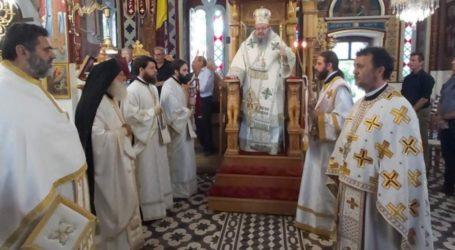 Χειροτονήθηκε νέος διάκονος από τον Λαρίσης Ιερώνυμο στον Αμπελώνα (φωτο)