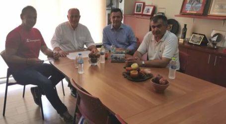 Συνάντηση Μπουκώρου με τον δήμαρχο Ρήγα Φεραίου