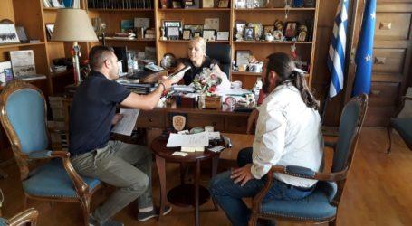 Δωροθέα Κολυνδρίνη: Ενημερωτική συνάντηση με το προεδρείο του Τ.Σ. Αφετών