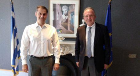 Συνάντηση Λιούπη – Θεοχάρη  με τις τουριστικές επενδύσεις της Μαγνησίας στο προσκήνιο